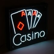 Casino Play Neon Sign